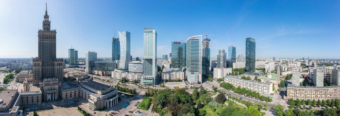 Warszawa – panorama miasta
