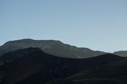 Solar halo in North Ossetia, Russia