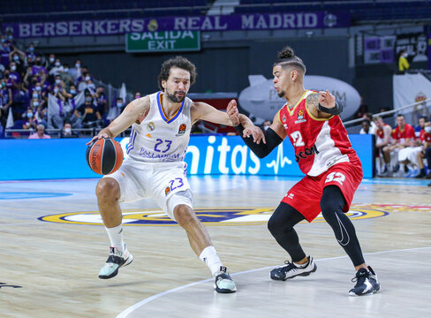 2021 Eurobasket League Real Madrid v AS Monaco Oct 13th