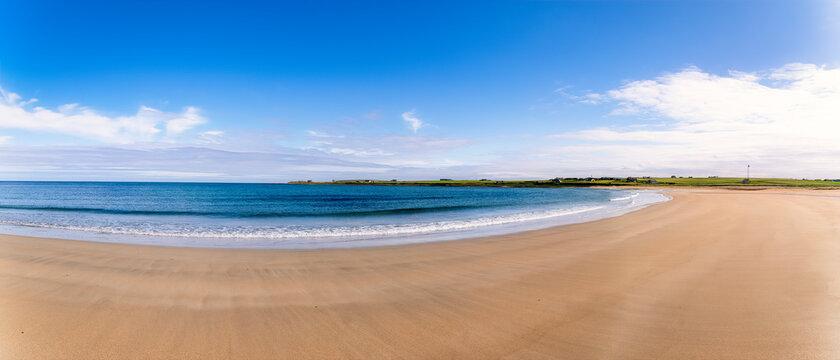 Scotland, Orkney Islands, South Ronaldsay, Empty beach