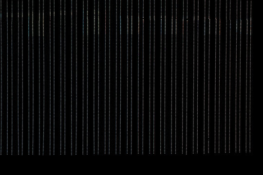 Background of a dark LED advertising panel with the text Time