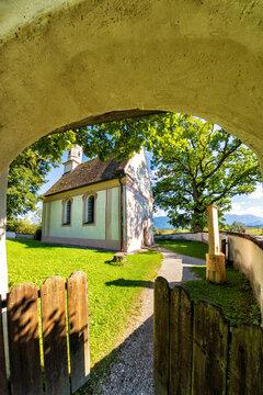 Kapelle St. Georg am Murnauer Moos