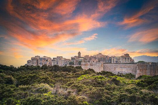 view of the city of Bonifacio