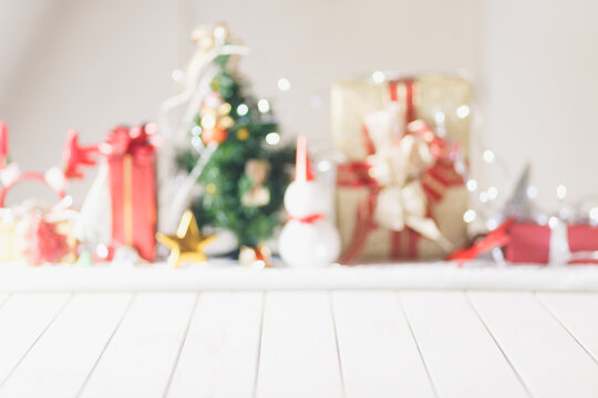 Christmas Blurred background