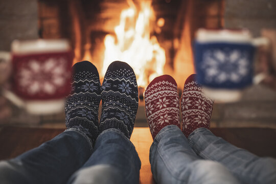 Christmas Xmas Couple Holiday Winter