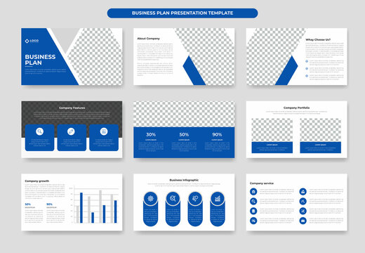 Business proposal powerpoint presentation template or Proposal project, annual report, company profile, brochure design or keynote template