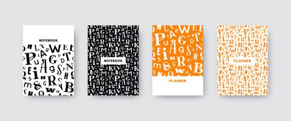 Obraz Artistic notebook covers design - fototapety do salonu