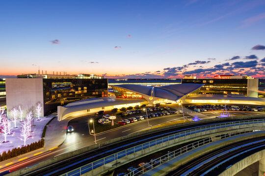 TWA Hotel Terminal New York JFK Airport in the United States