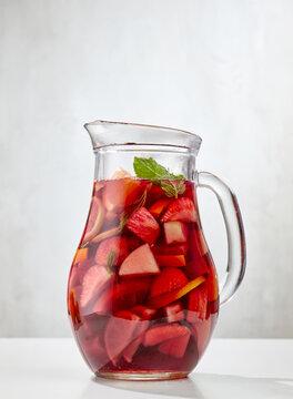 jug of red sangria