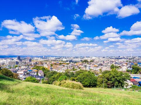 郊外の住宅地 東京