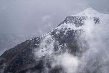 Obraz Russia, Caucasus, district of the settlement Arkhyz, mountain top Pshish. - fototapety do salonu