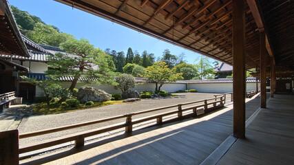 Fototapeta 南禅寺本坊庭園(虎の子渡しの庭園) Honbo Garden of Nanzenji Temple obraz