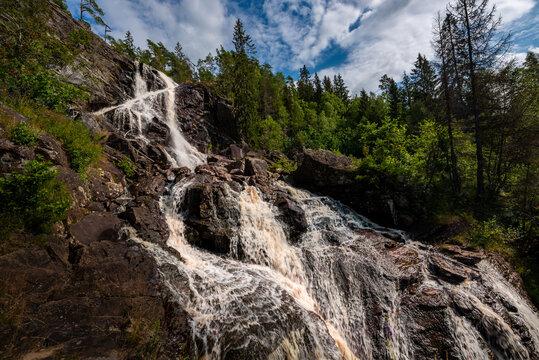 Elgafossen - Algafallet Waterfall