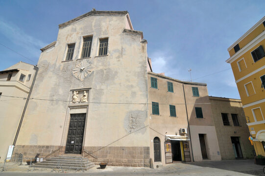 Church San Michele of Alghero in Sardinia