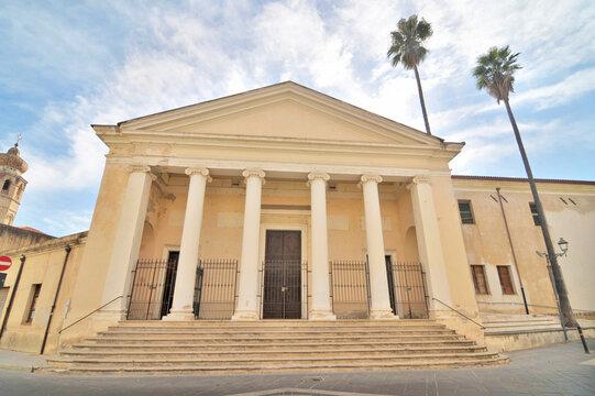 San Francesco church in Oristano, Sardinia, Italy