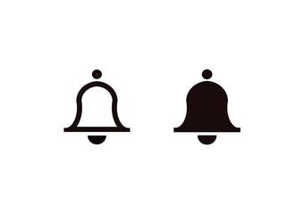 Obraz dzwonek ikona - fototapety do salonu
