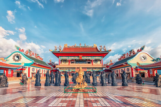 Chinese temple in Pattaya, Thailand