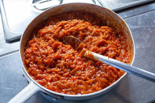 sugo of tomatoitalian cuisine typical dishes of emilia romagna bologna modena reggio emilia