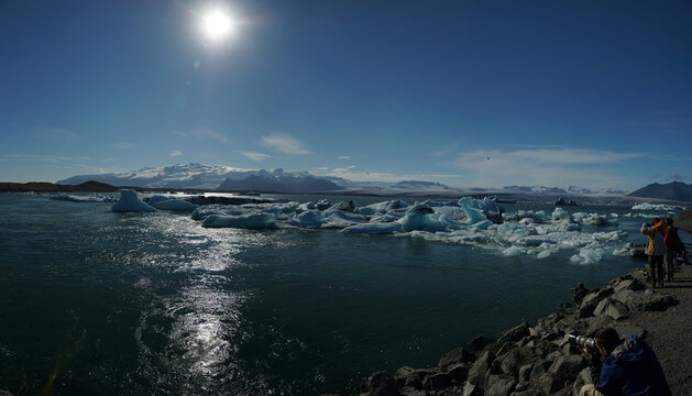 Fotografen-Hotspot Island – die Gletscherlagung Jökulsárlón am
