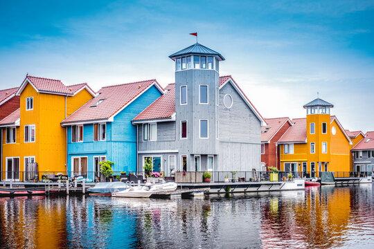 Reitdiep, Groningen, Groningen Province, The Netherlands