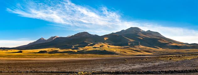 Obraz Salinas y Aguada Blanca National Reserve in Peru - fototapety do salonu
