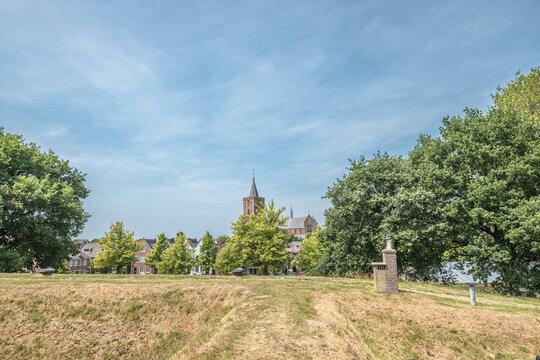 Grote Kerk or Sint Vituskerk in fortified town Naarden-Vesting, Noord-Holland Province, The Netherlands