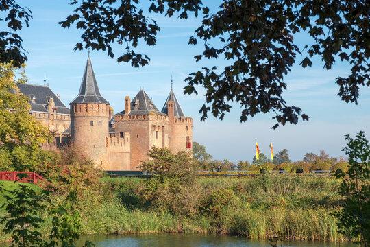 Muiderslot (1280) Muiden, Noord-Holland Province, The Netherlands