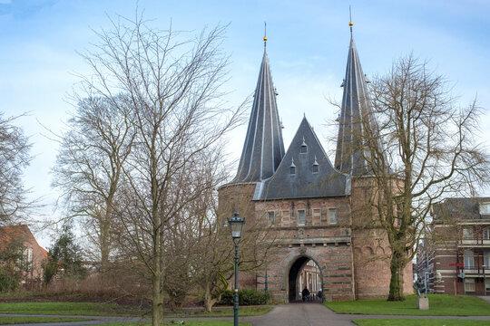 Cellebroederspoort, Kampen, Overijssel Province, The Netherlands