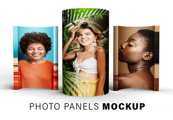 Obraz Photo Panel Mockup - fototapety do salonu