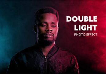Obraz Double Light Effect - fototapety do salonu