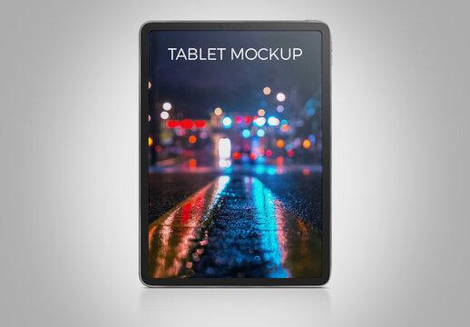 Vertical iPad Mockup