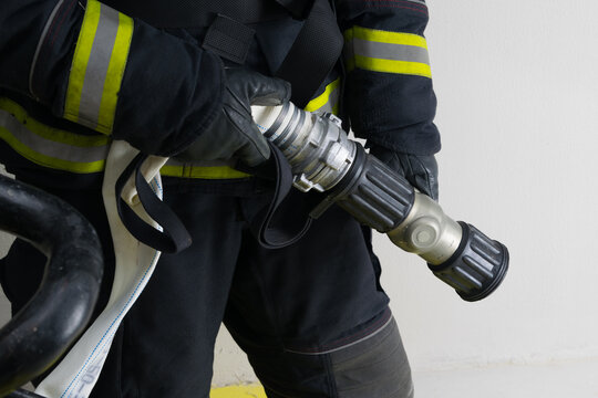 close-up of water supply equipment capable of regulating pressure and dispersion system for better extinguishing