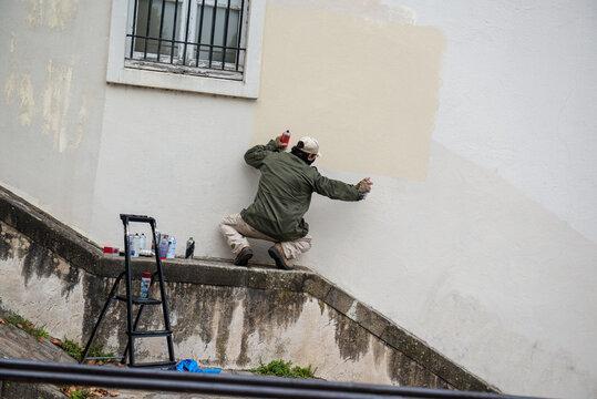 le graffeur inconnu