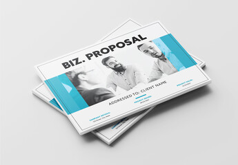 Fototapeta Business Proposal Layout obraz