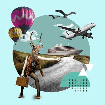 Collage d'Art, le voyage